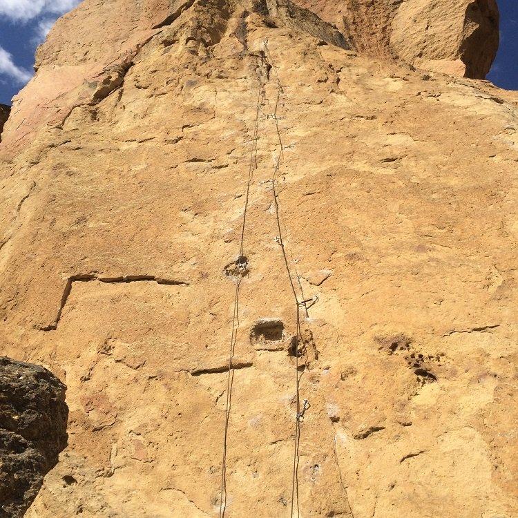 Caffeine Free - Smith Rock Climbing