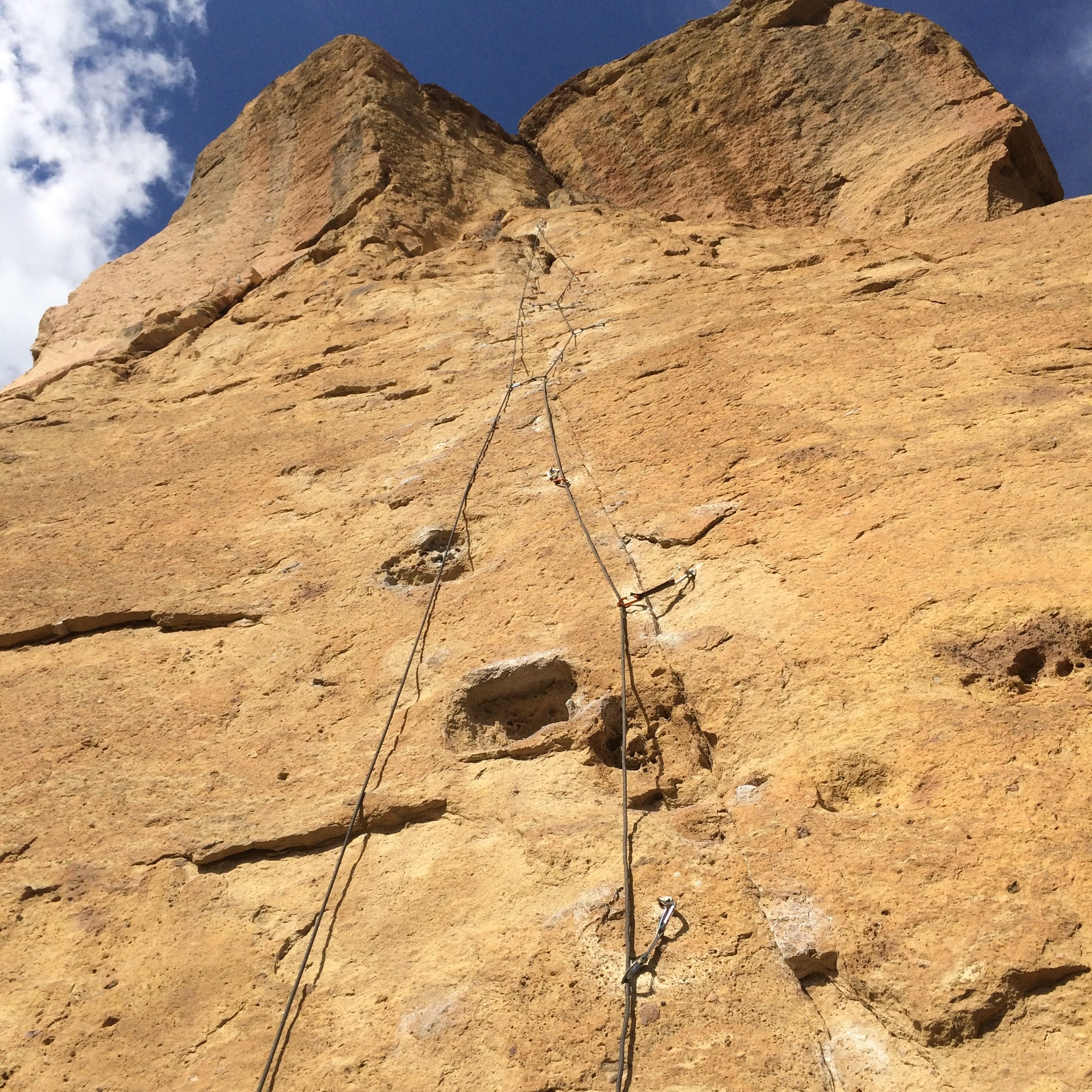 Caffeine Free - Smith Rock Climbing