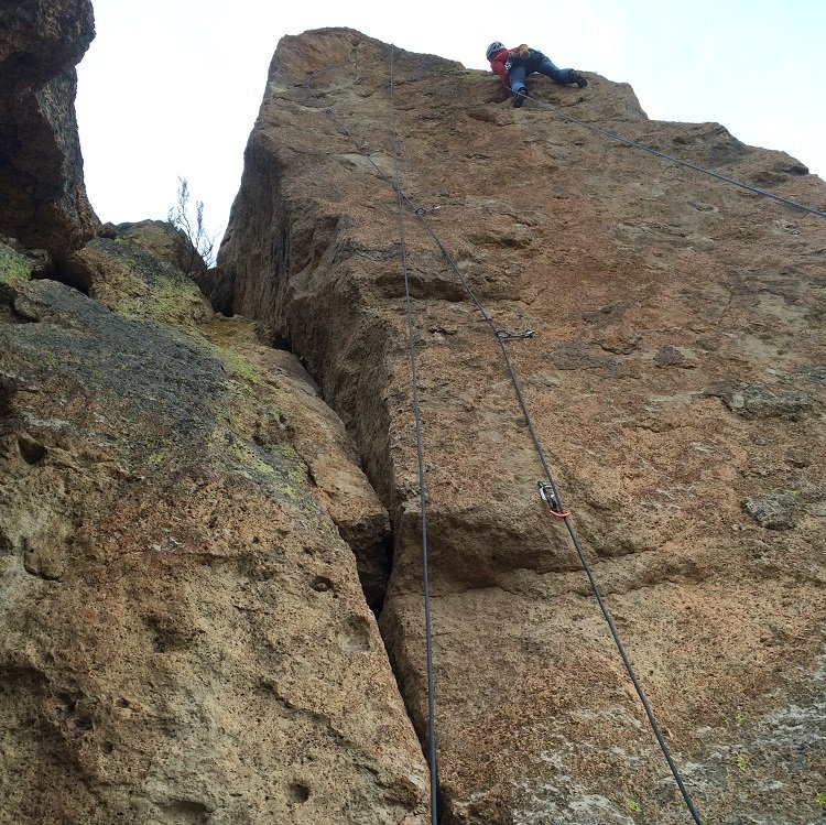 Cure for Pain- Smith Rock Climbing