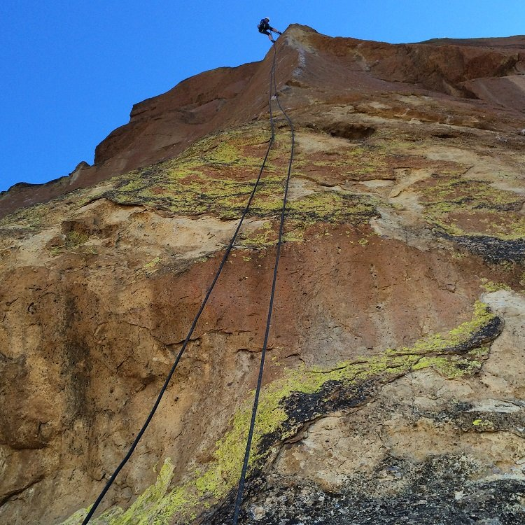 Moons of Pluto - Smith Rock Climbing