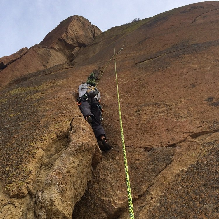 Out of Harm's Way - Smith Rock Climbing