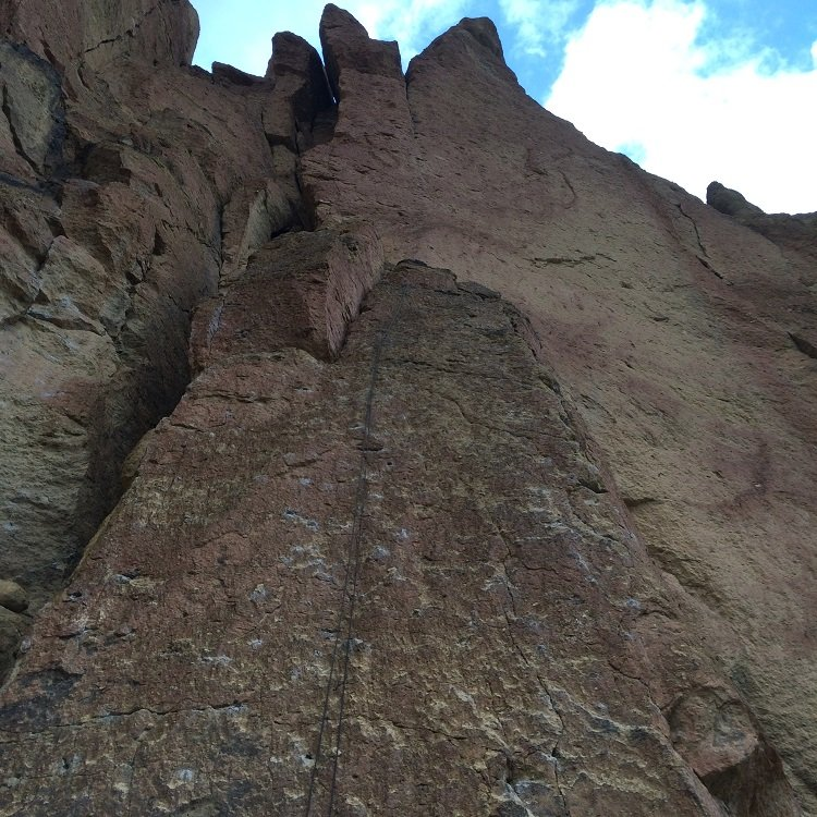 Testament Slab - Smith Rock Climbing