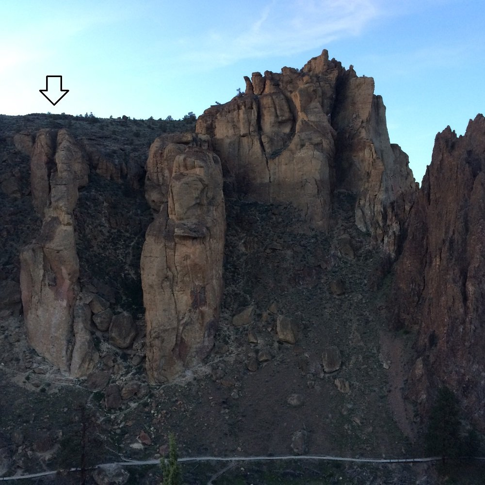 Western Ship - Smith Rock Climbing