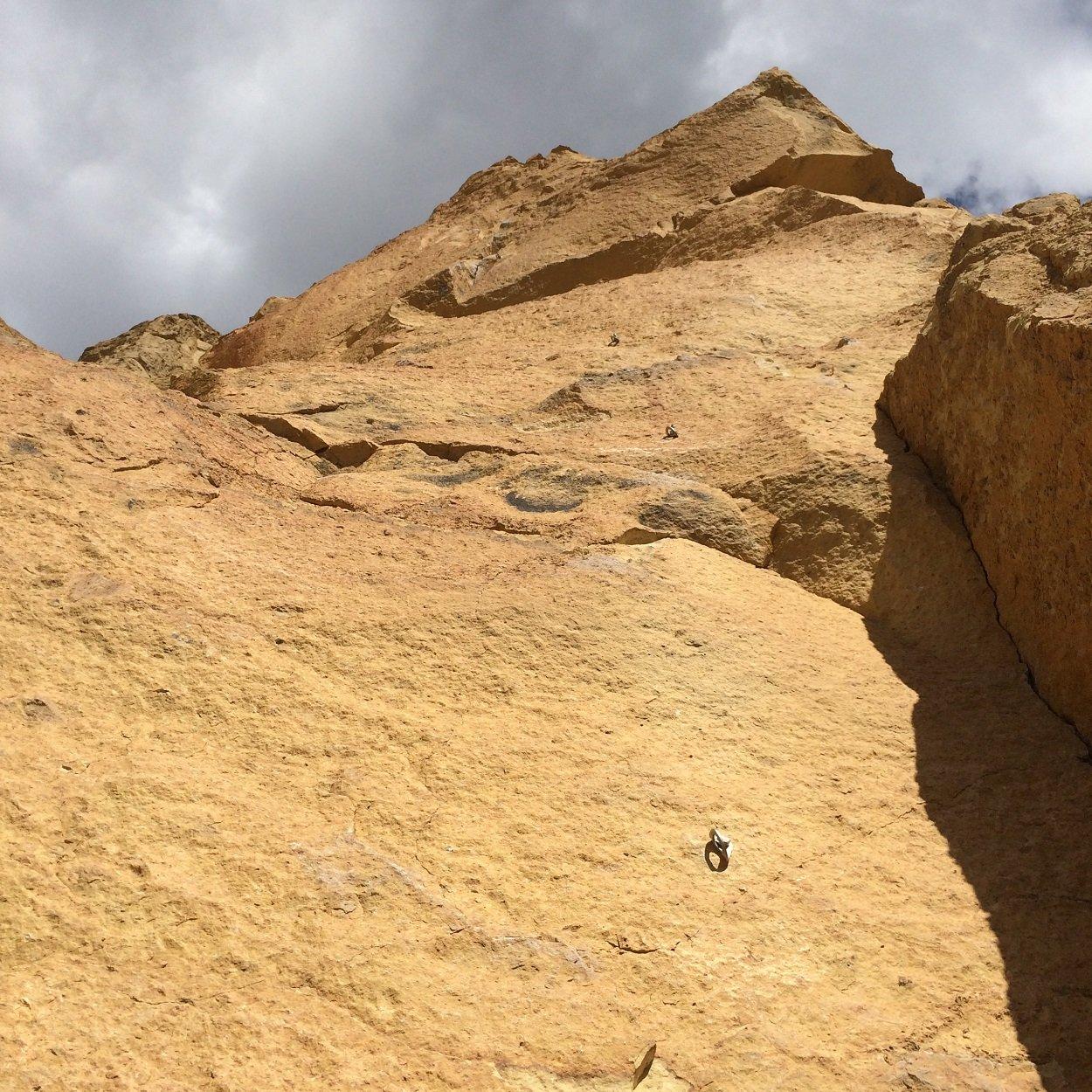 Buffalo Power - Smith Rock Climbing