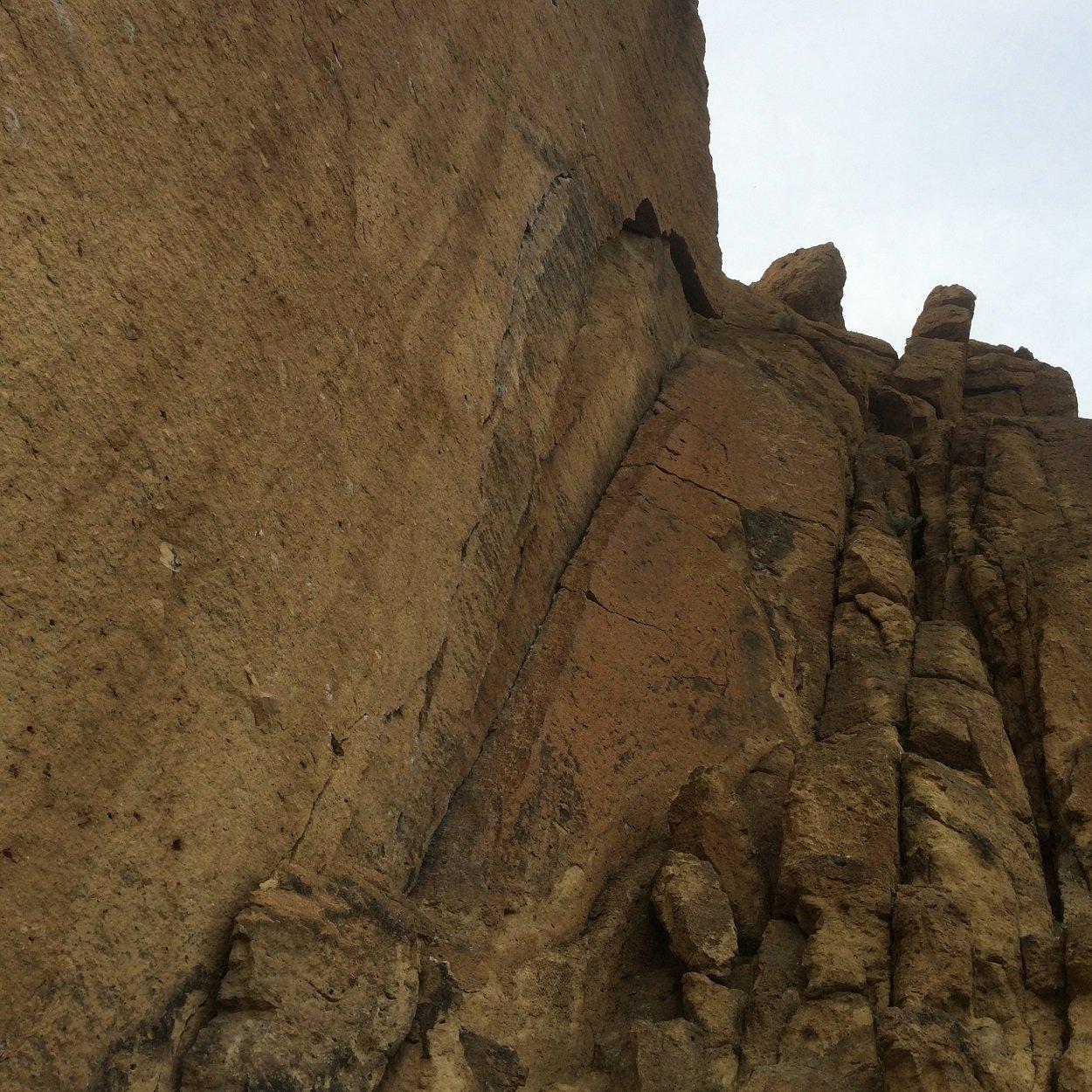 Cinnamon Slab - Smith Rock State Park - Rock Climbing