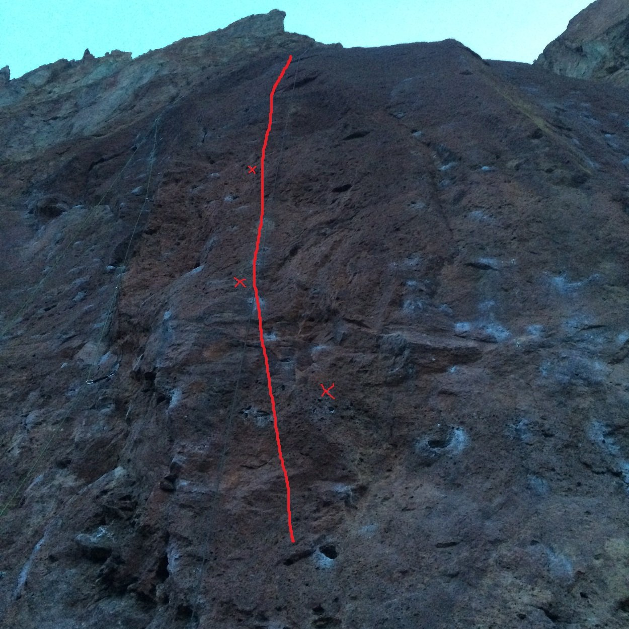 Fred On Air - Smith Rock State Park - Rock Climbing