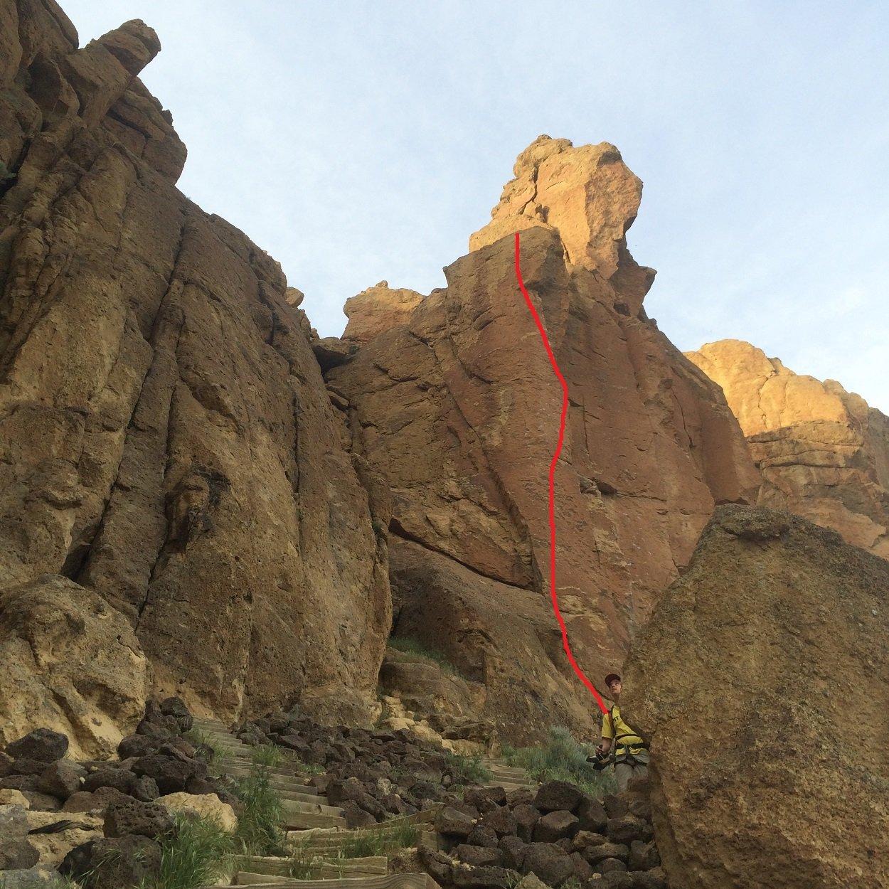 Headless Horseman - Smith Rock Climbing