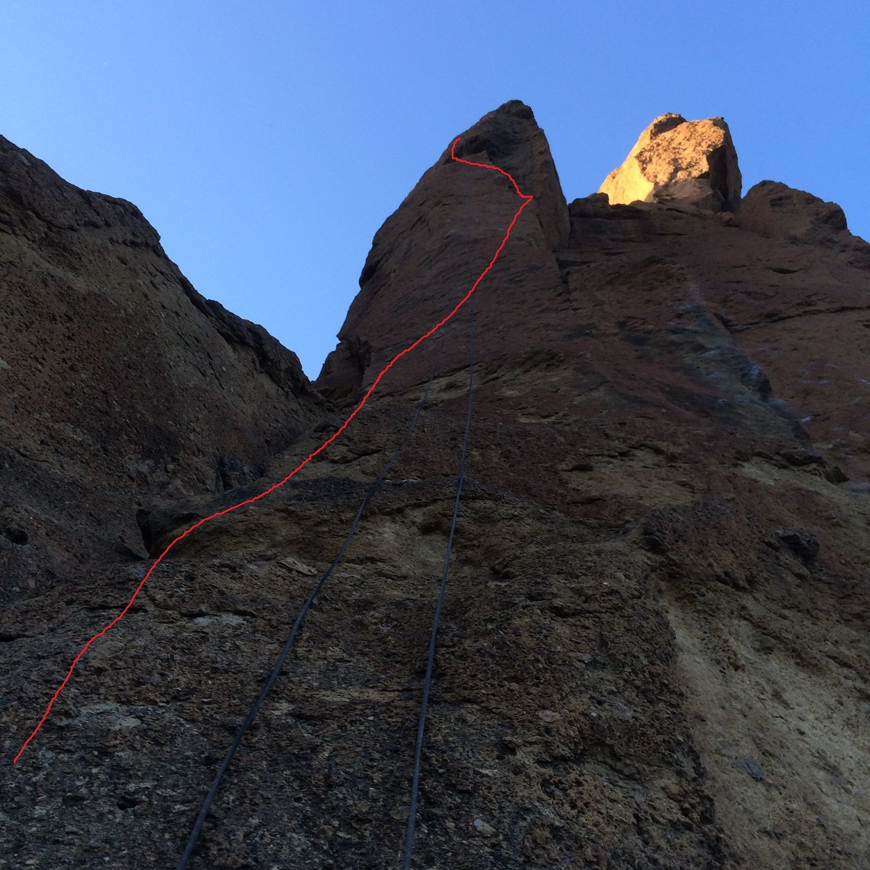 Headless Horseman - Smith Rock Climbing