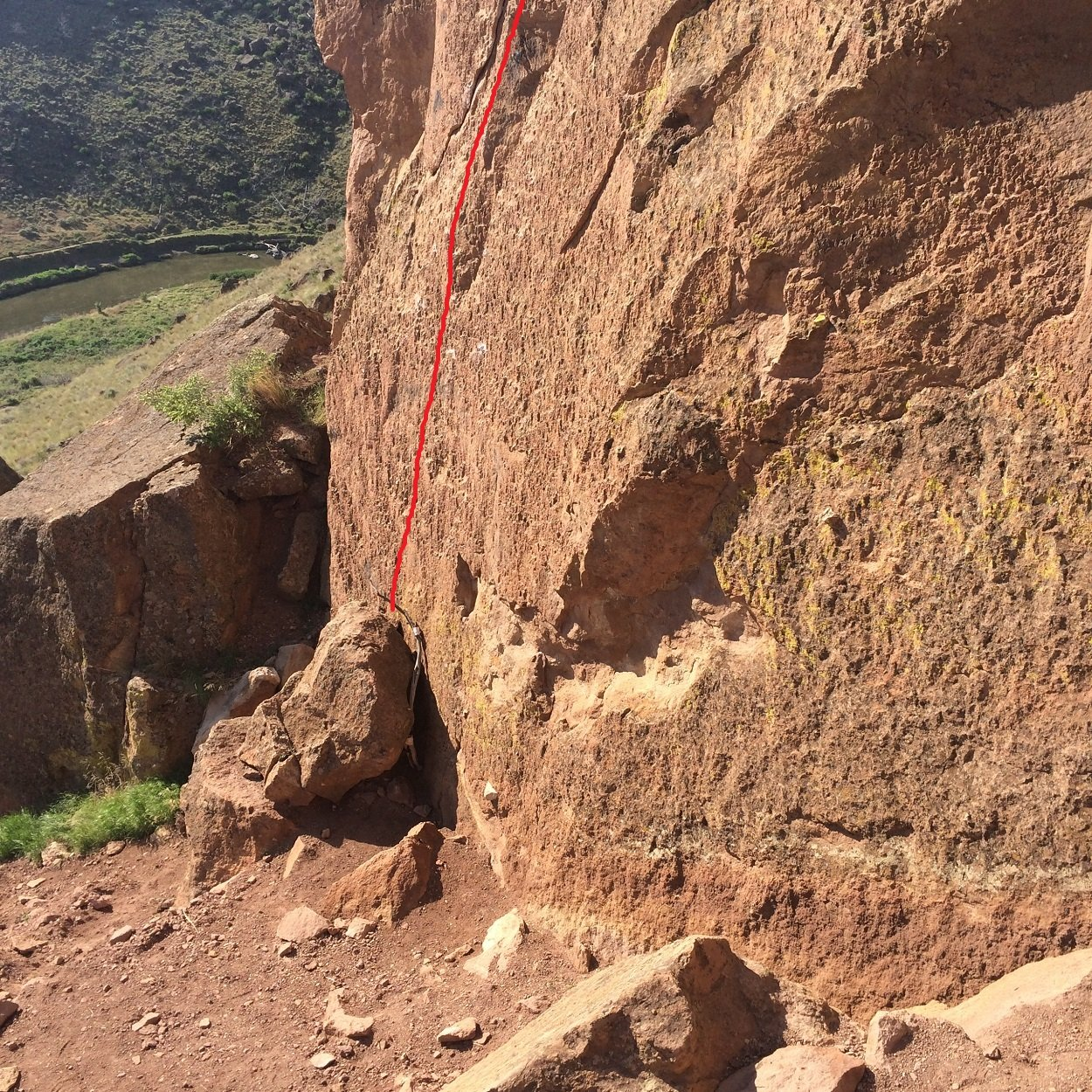 Let's Face It - Smith Rock Climbing
