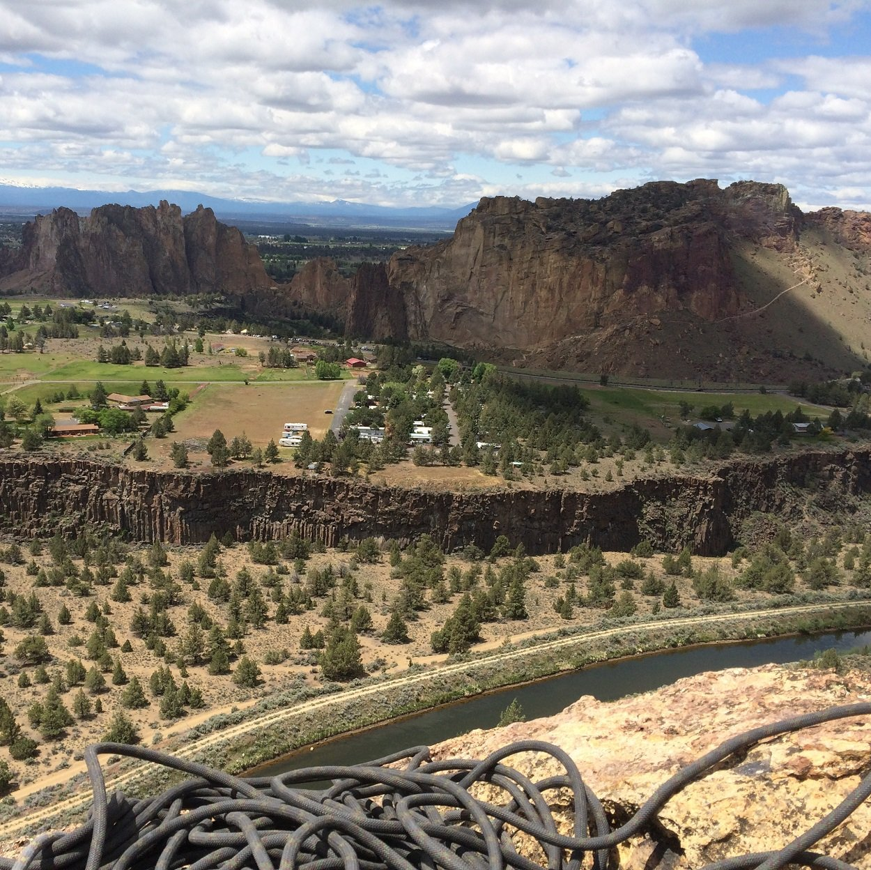 Lusty Lady - Smith Rock Climbing