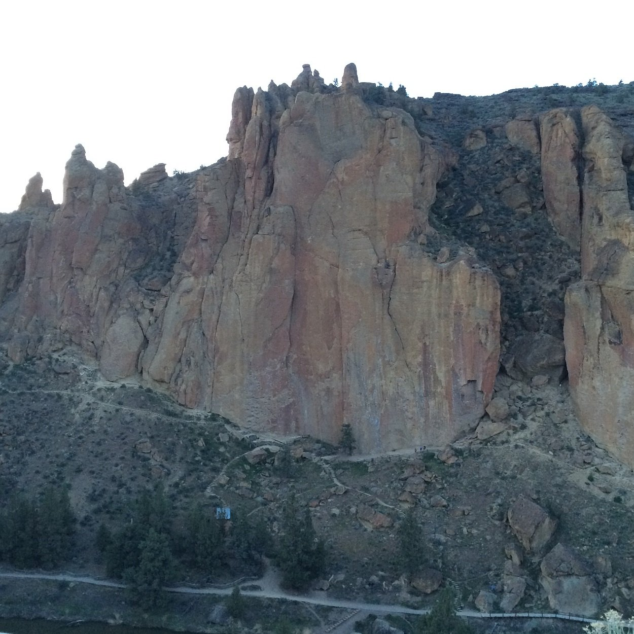 Morning Glory Wall - Smith Rock Climbing