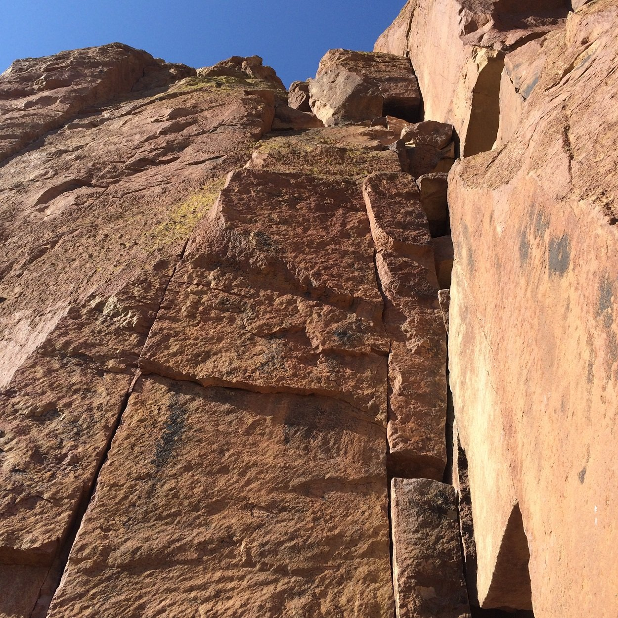Start of Moscow - Smith Rock Climbing