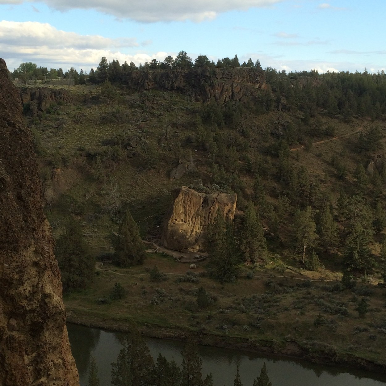 Rope de Dope Block - Smith Rock Climbing