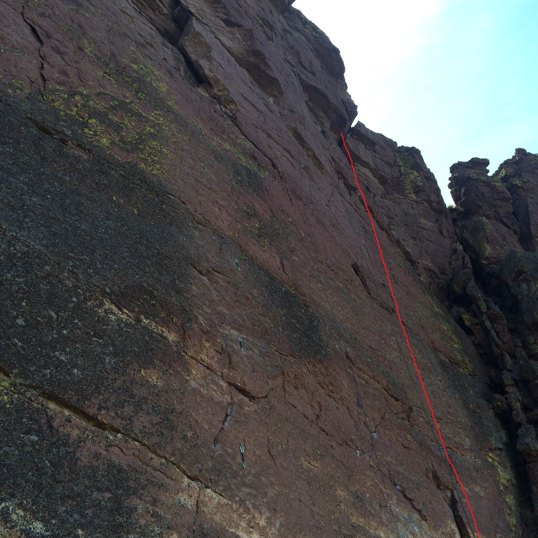 Watermark - Pleasure Palace - Smith Rock Climbing