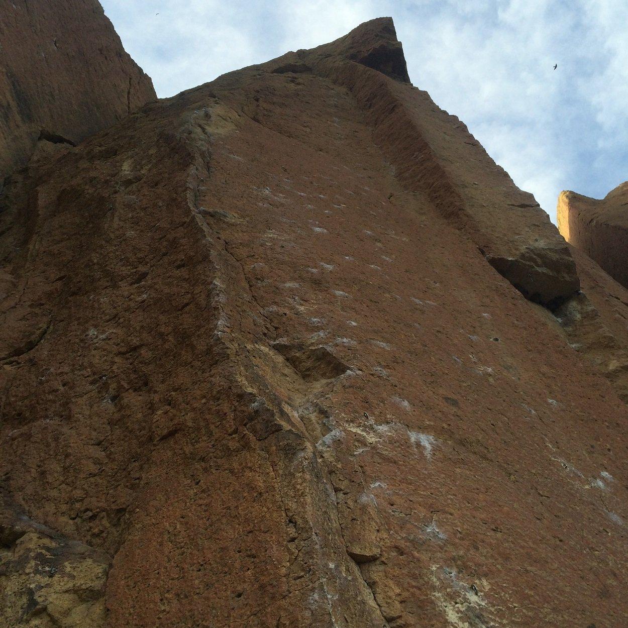 Wedding Day - Smith Rock Climbing