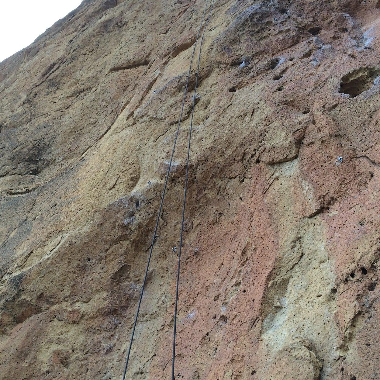 Marooned - Smith Rock Climbing