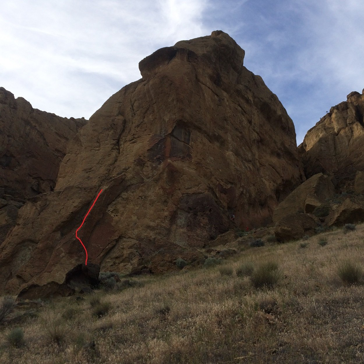 Time To Shower - Smith Rock Climbing