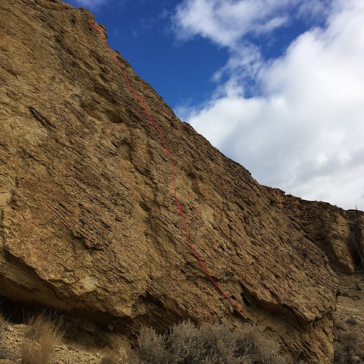 Pitch 1 of Barred Reality - Smith Rock