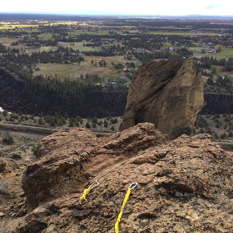 Top of Pitch 1 of Barred Reality - Smith Rock