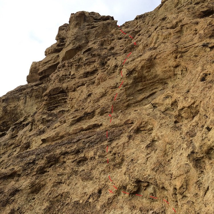 Pitch 2 of the Cave Route - Smith Rock