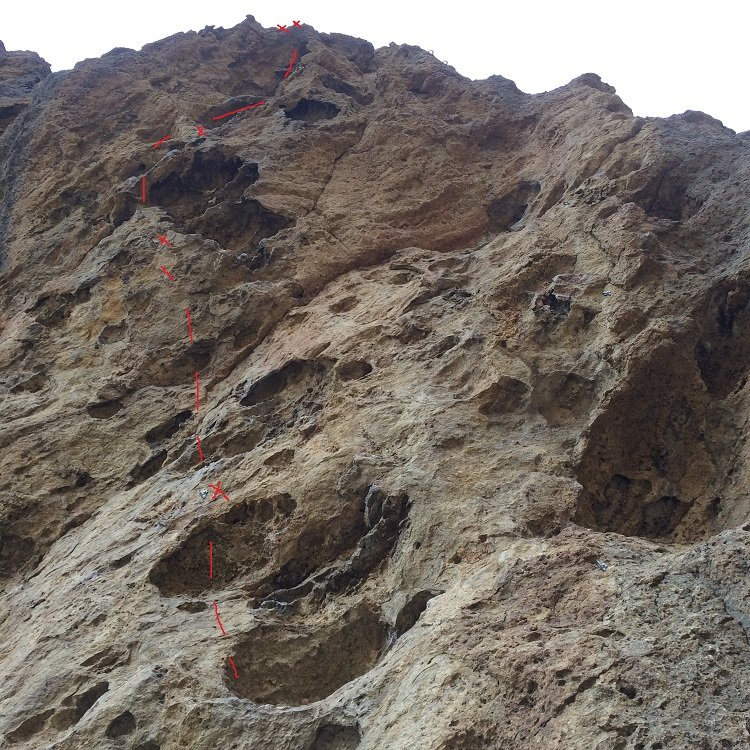 Short Sharp Shock bolt line - Smith Rock