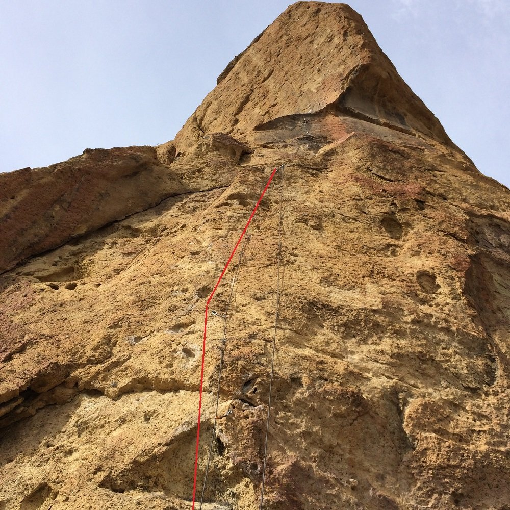 Time to Power - Smith Rock Climbing