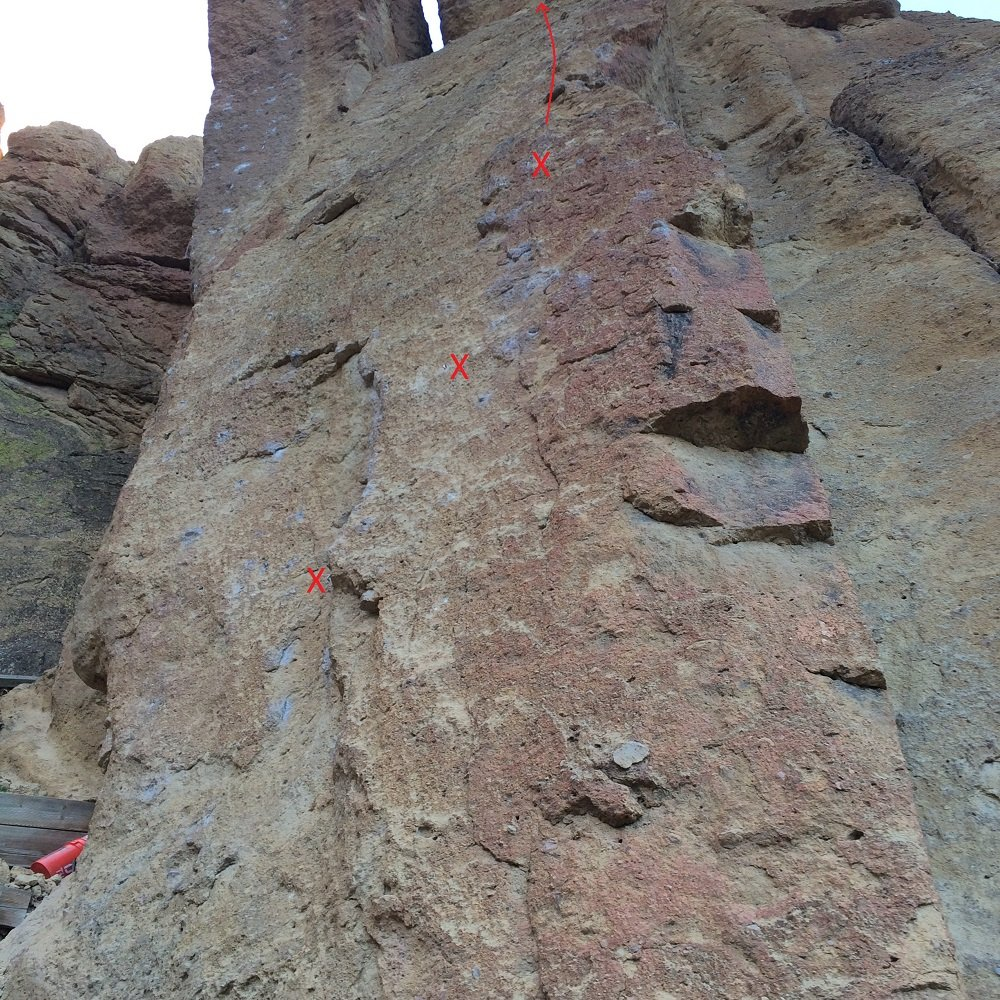 Captain Xenolith - Smith Rock Climbing