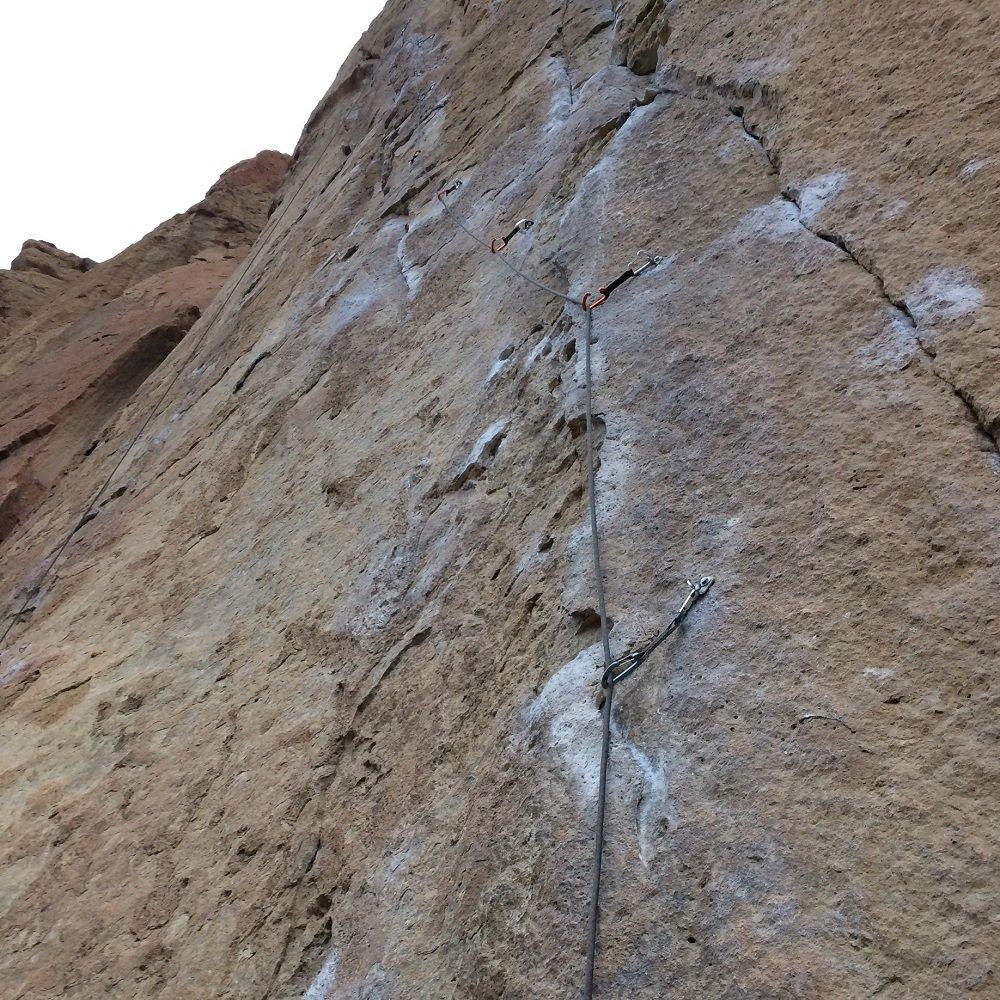 Magic Light - Smith Rock Climbing