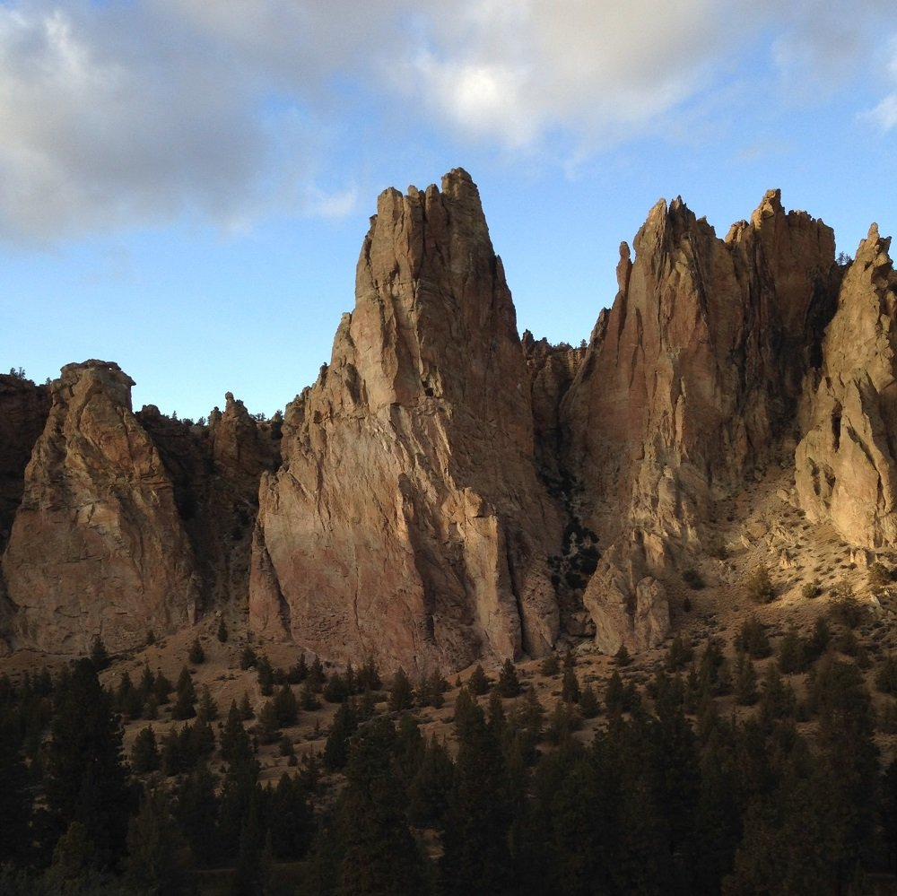The Monument - Smith Rock Climbing