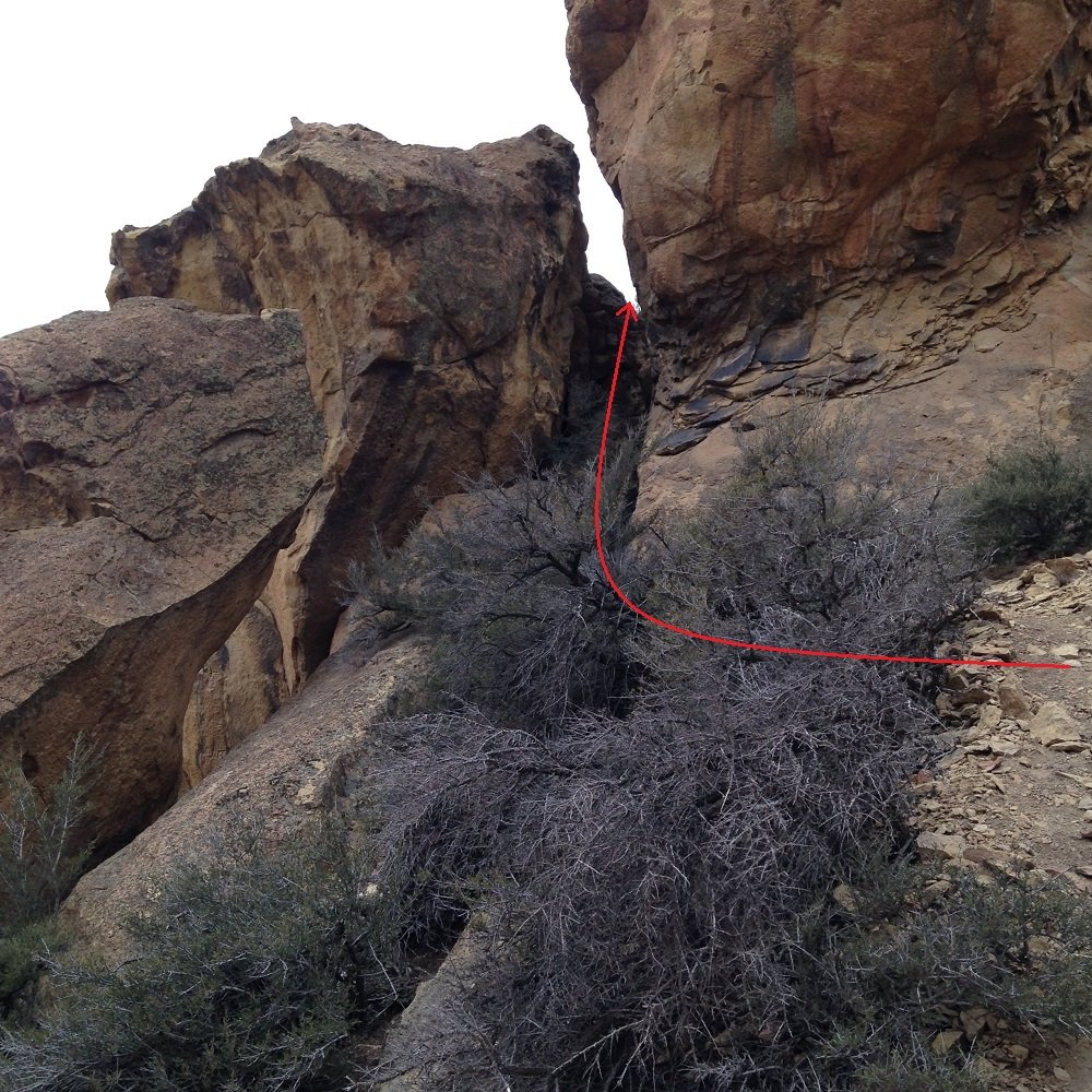 Adit Rock Back - Smith Rock Climbing