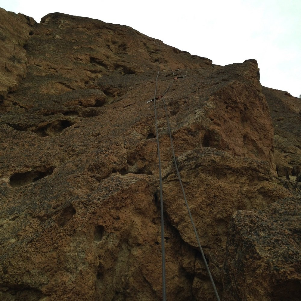 Chalk Wave - Smith Rock Climbing