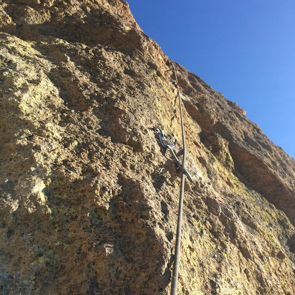 Wherever I May Roam - Start of Pitch 4 - Smith Rock