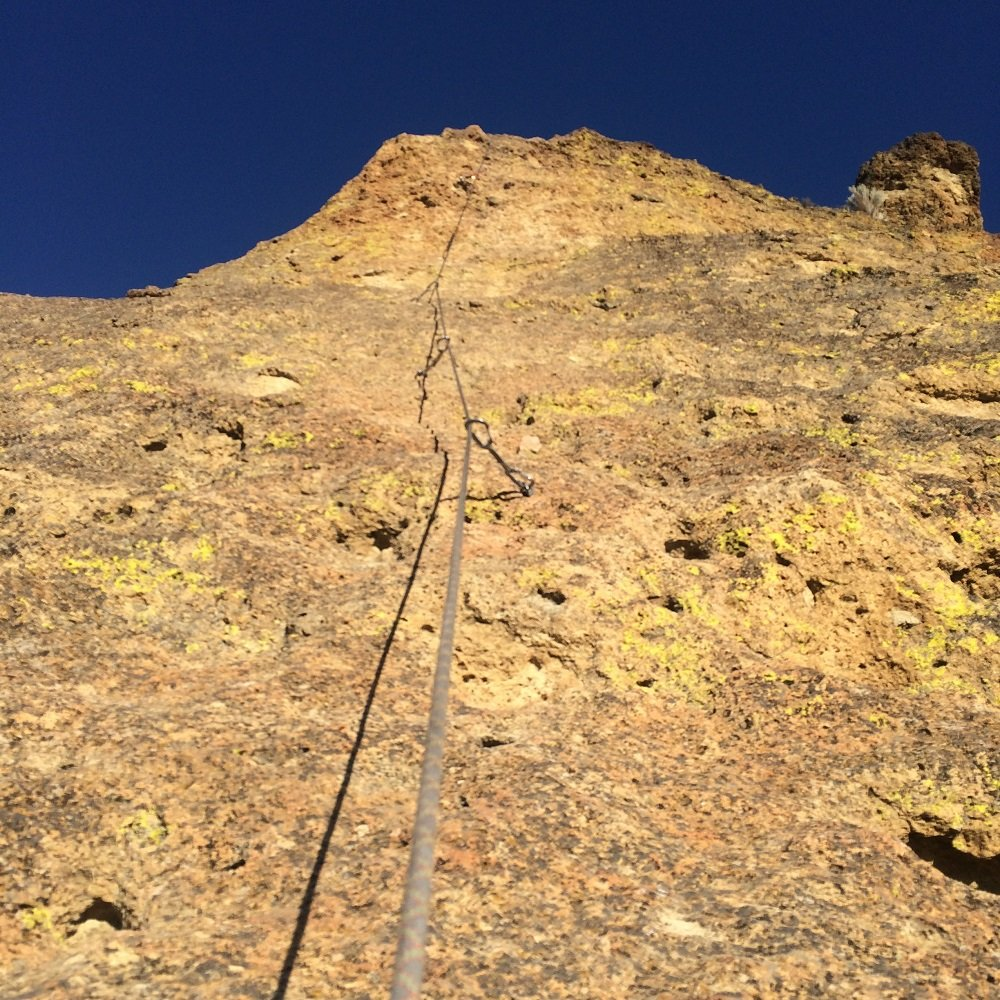 Wherever I May Roam - Start of Pitch 5 - Smith Rock