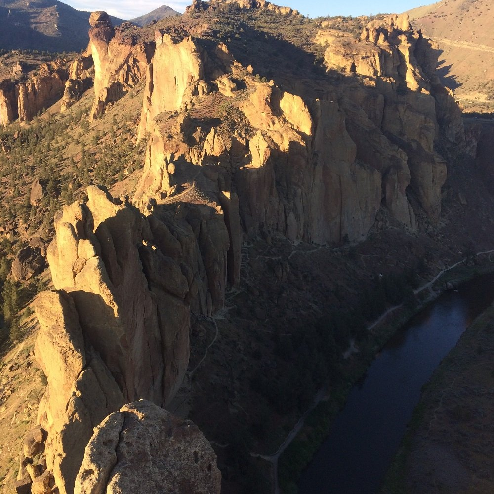 Wherever I May Roam - View from top - Smith Rock