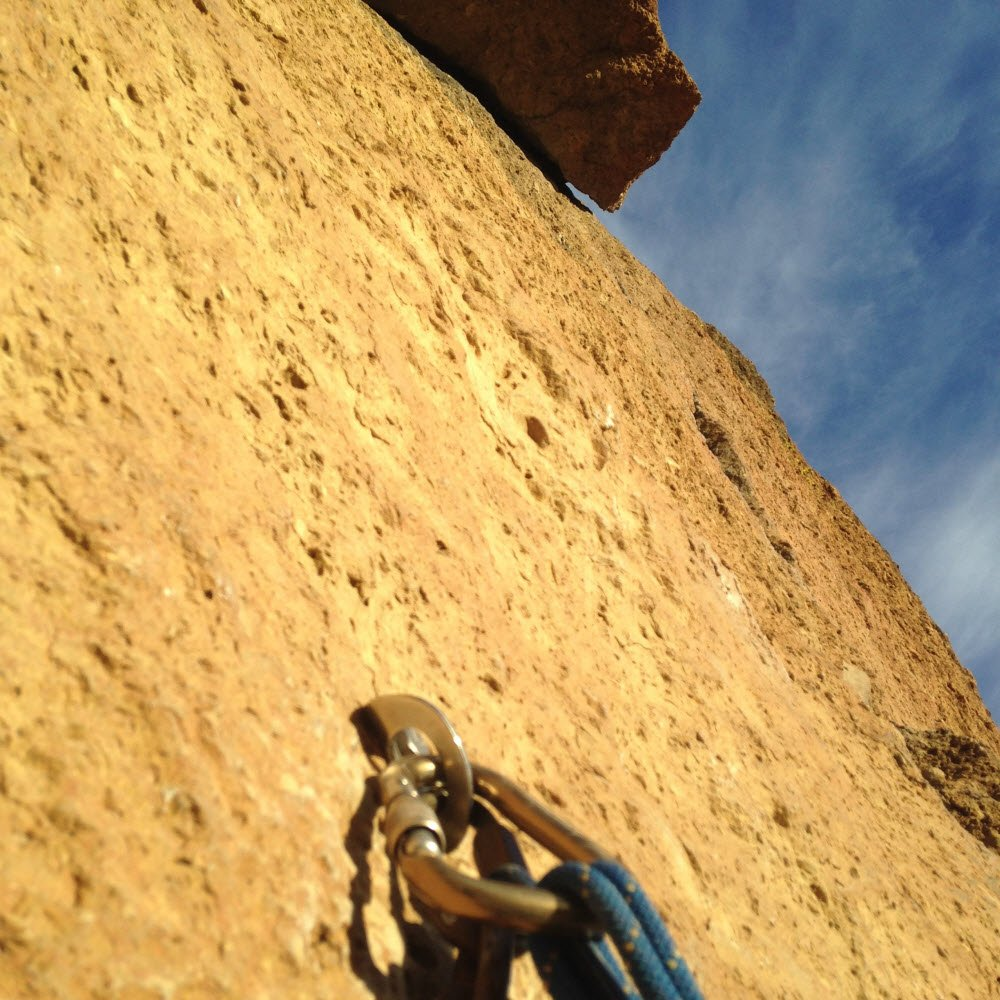 Spiderman roof - Smith Rock
