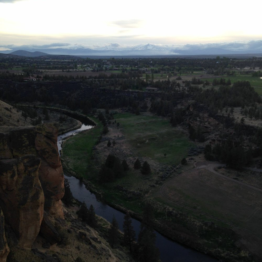 The top of Spiderman - Smith Rock