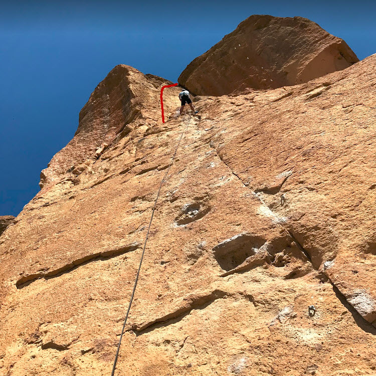 Caffeine Free Finish - Smith Rock Climbing