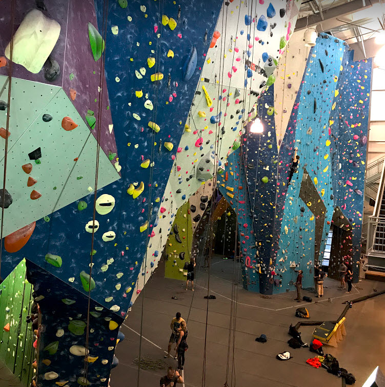 Planet Granite - Rope Climbing