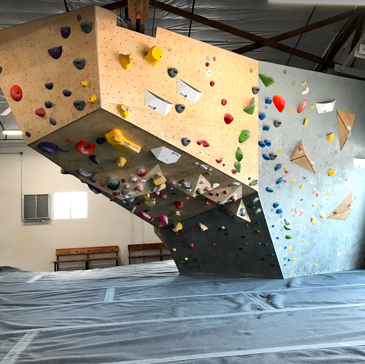 Elevation Bouldering Gym Wall