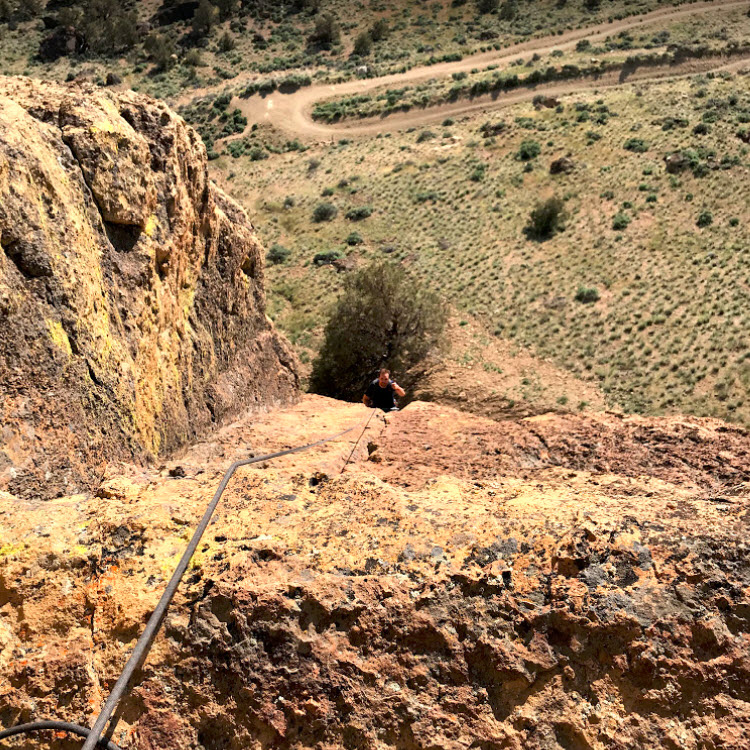 Round River Direct - Smith Rock Climbing