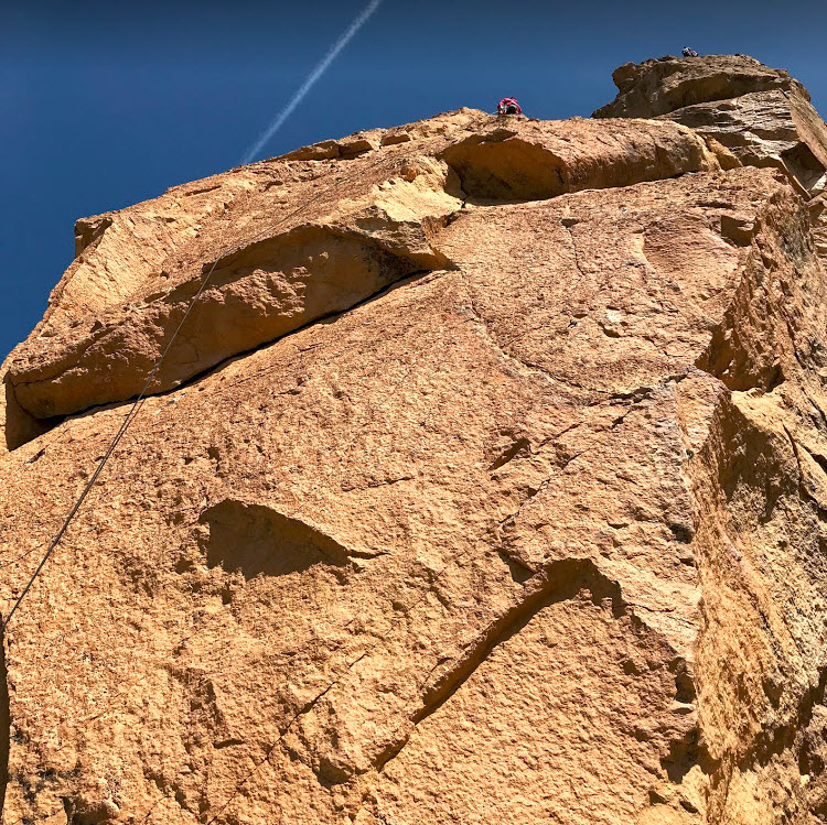 Thin Air - Smith Rock Climbing