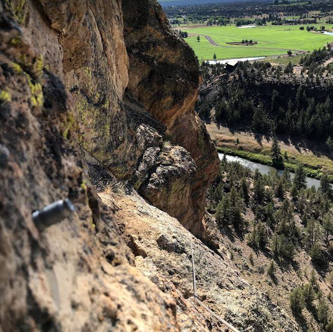 First Kiss - Smith Rock Climbing