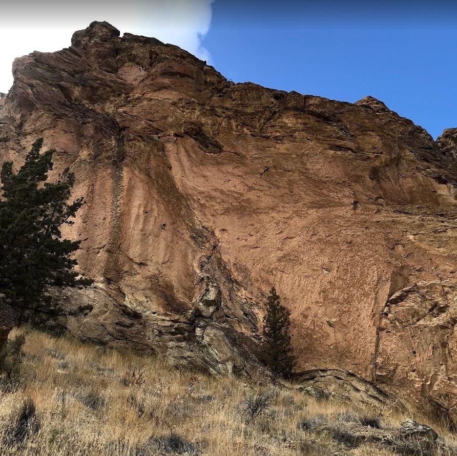 Cajun Cliff - Smith Rock Climbing