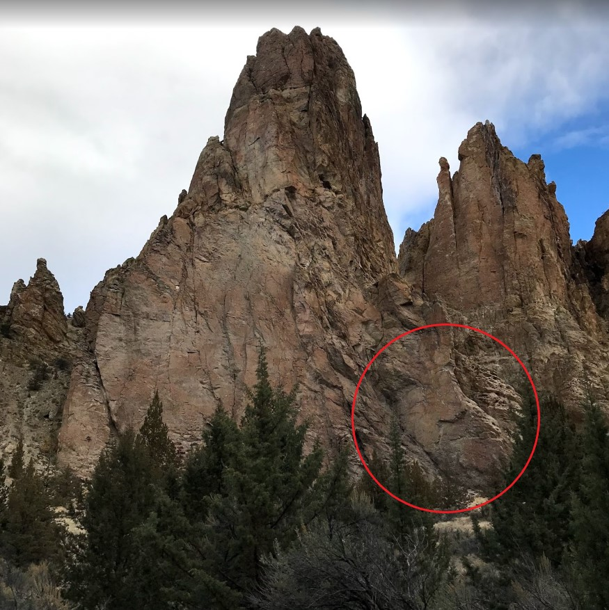 Hank Wall - Monument Area - Smith Rock Climbing