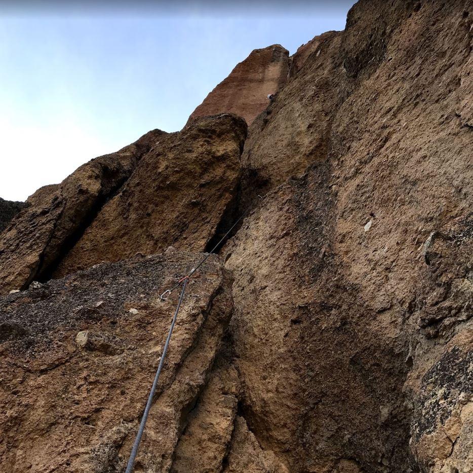 King Nothing - Smith Rock Climbing