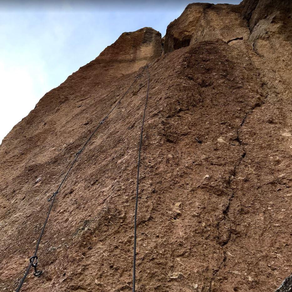 Lycra - Smith Rock Climbing