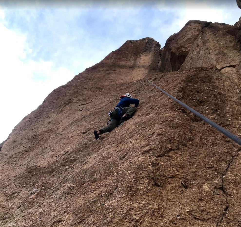 Climbing Lycra - Smith Rock Climbing