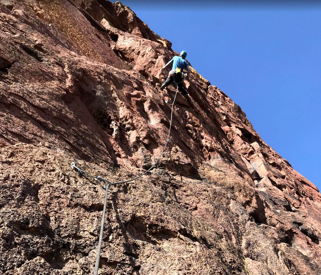 Orgasmagoria - Smith Rock Climbing